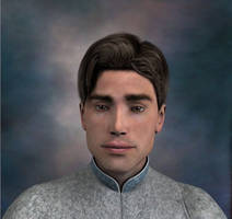'Outpost' Character Portrait Close-up by Gunslinger1