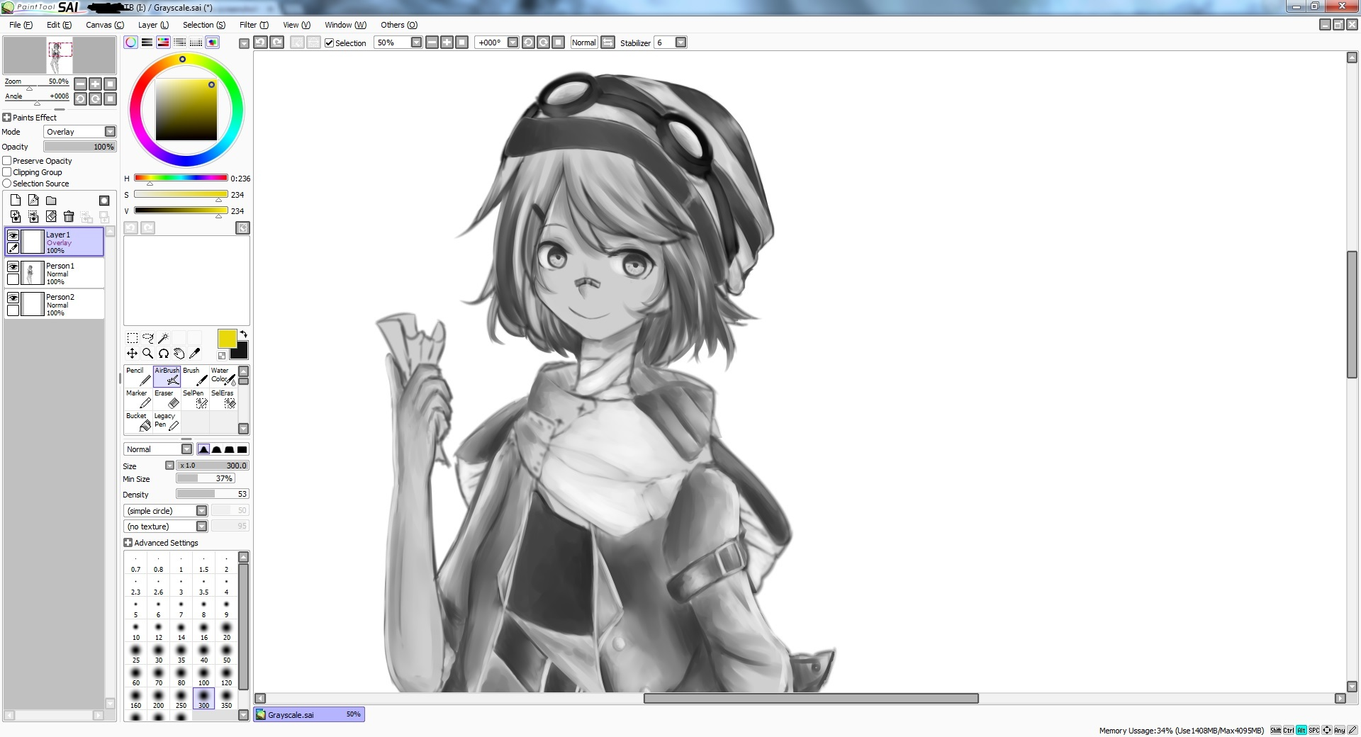 WIP - Grayscale coloring by kalouriis on DeviantArt