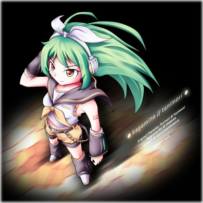 Vocaloid: Kagamine Tanimori by mysticswordsman21