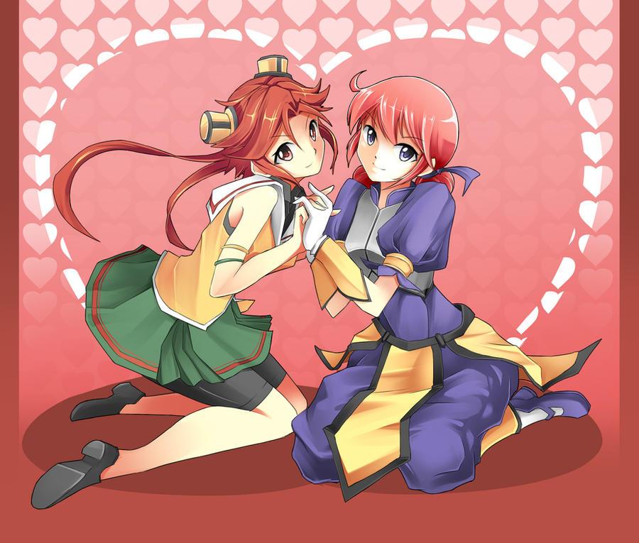 Happy Valentine's Day by mysticswordsman21