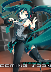 Coming Soon. Vocaloid Fanbook by mysticswordsman21