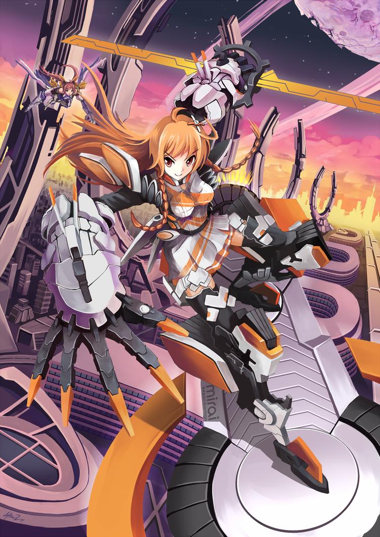 Mirai Skysurfer by mysticswordsman21