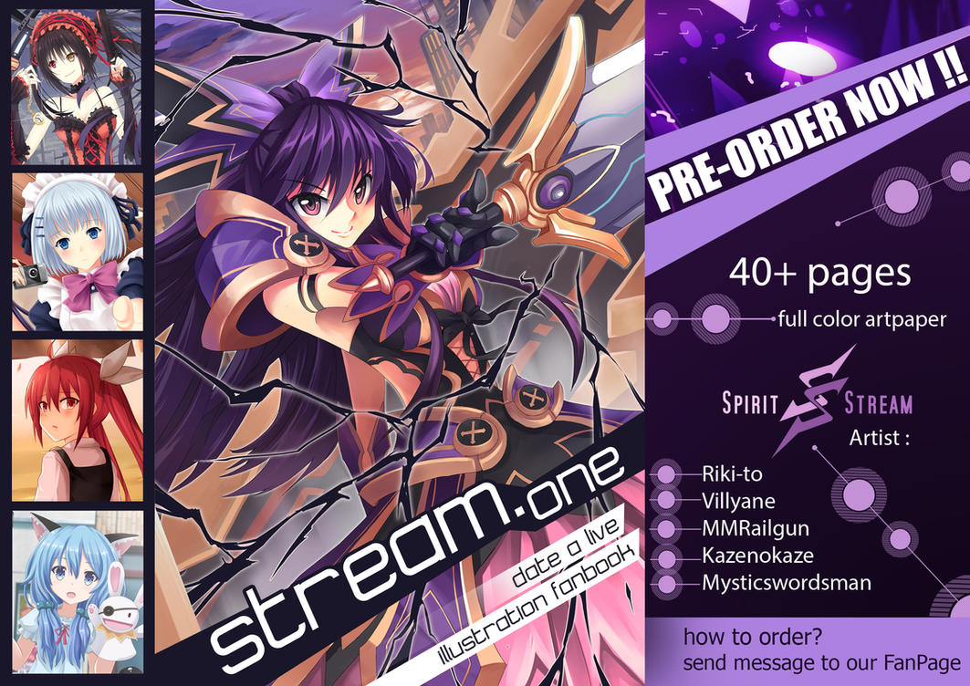Date A Live Fanbook Pre-Order - Closed by mysticswordsman21
