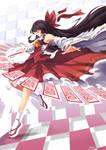 Zero Two - Reimu Hakurei