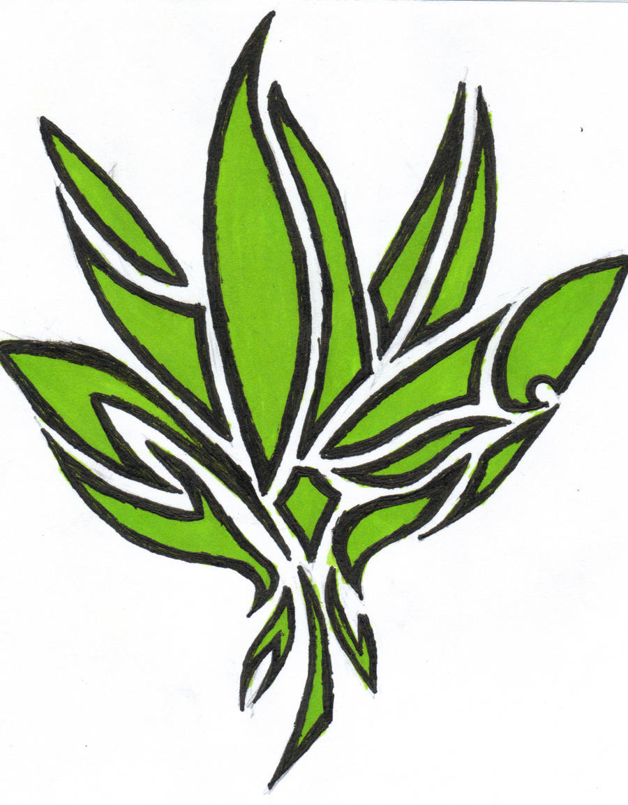Cool Weed Leaf Drawings Graffiti weed leaf drawings