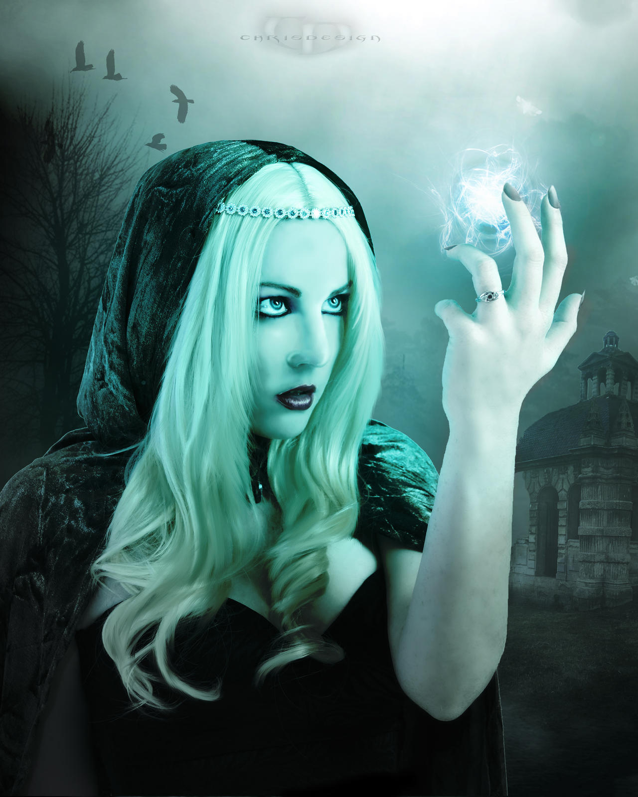 The Blue Witch by ChrisDesign47
