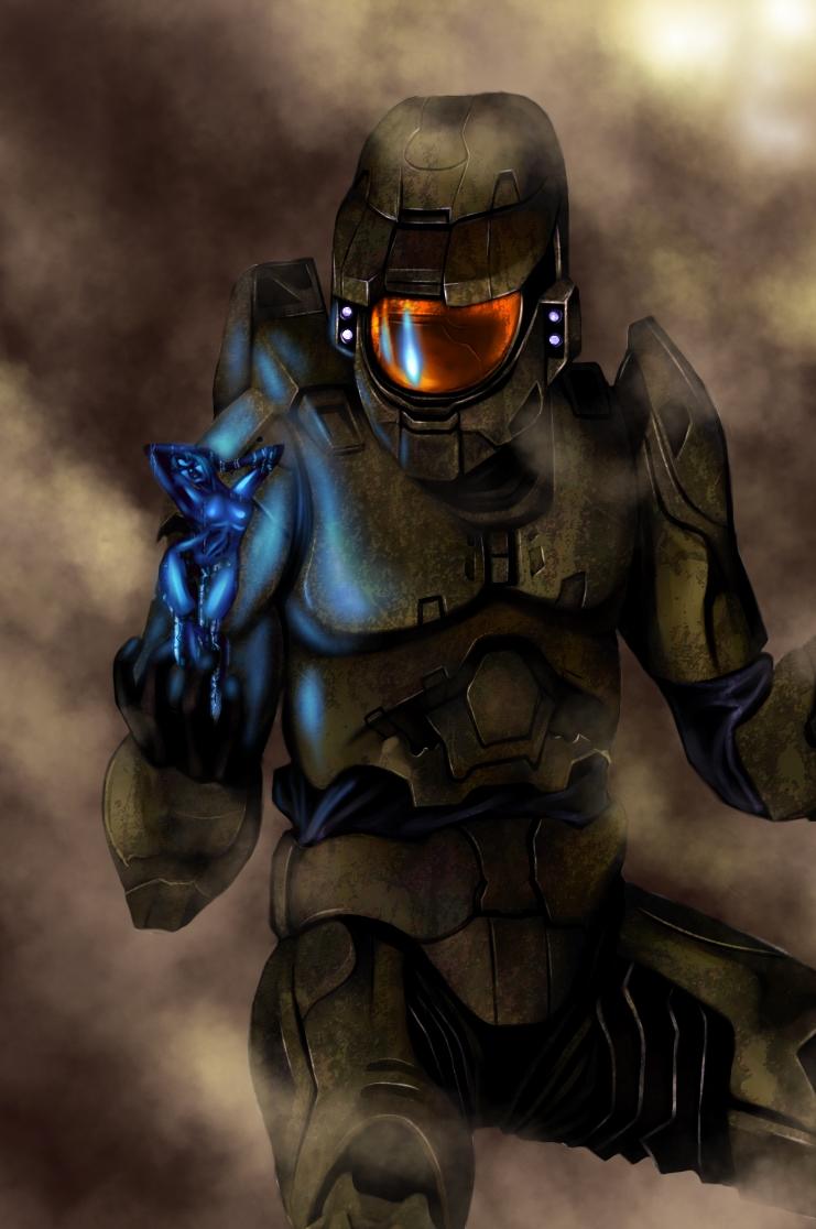 Halo-Master Chief and Cortana by Killrave