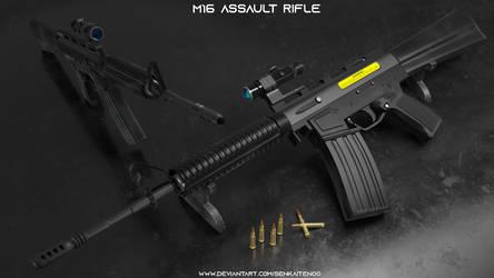 M16 ASSAULT RIFLE by SenkaitenO