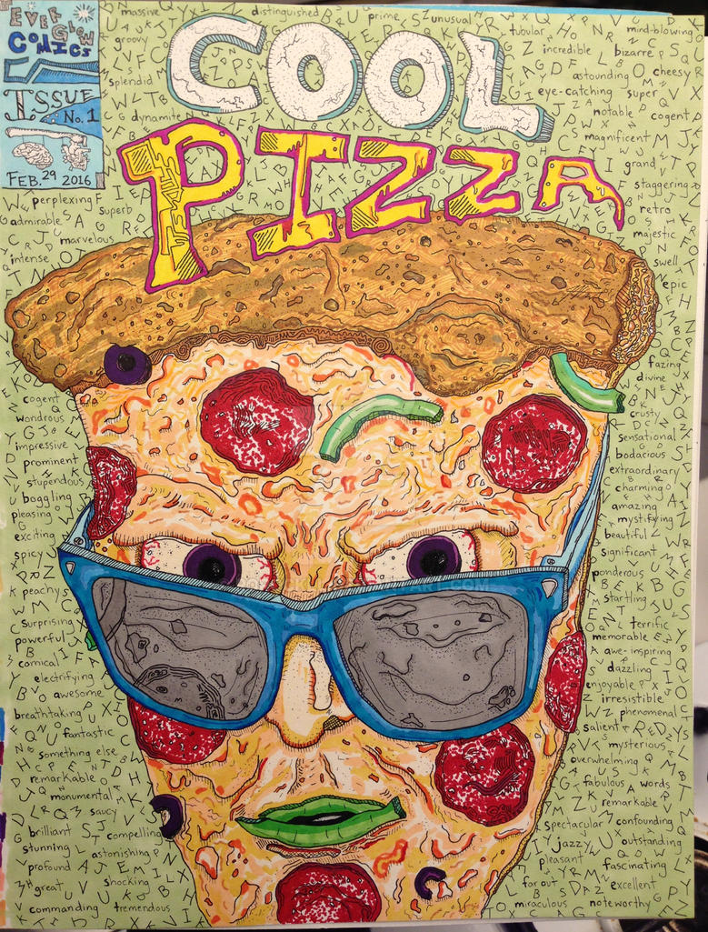 Cool Pizza by rorockll