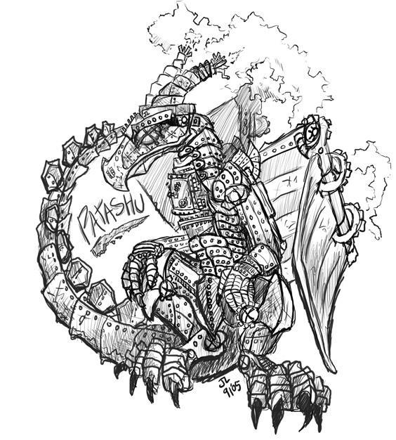 Steampunk dragons (Фото 3)