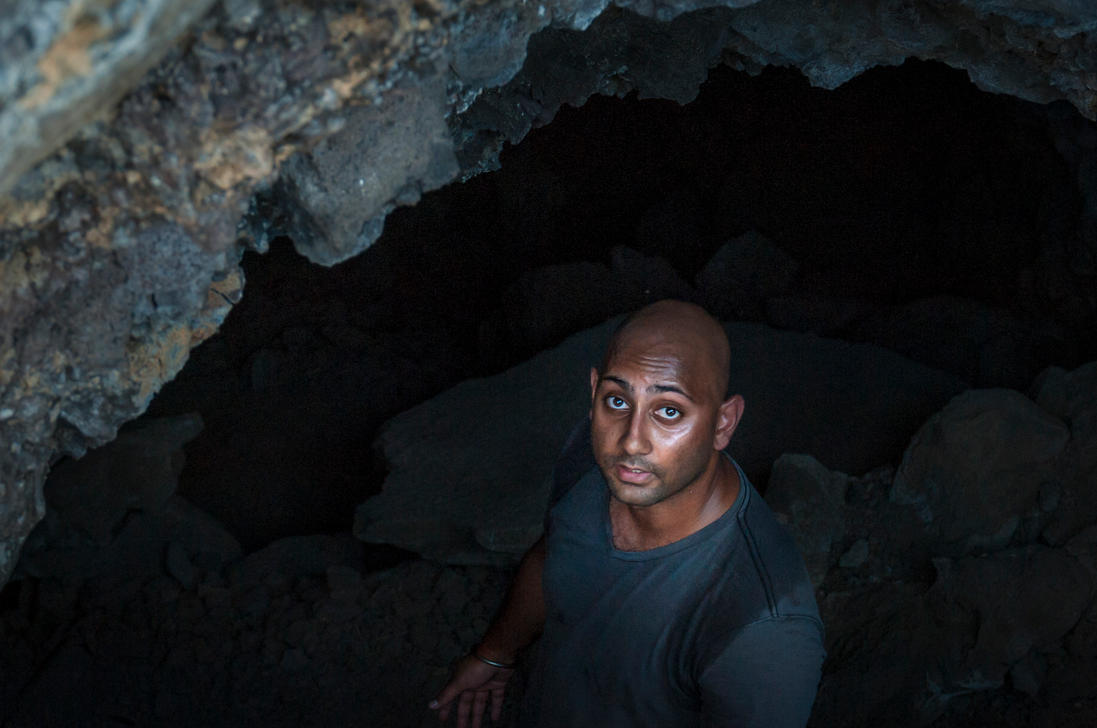 Military Cave Kaena Point, Hawaii by Jonathan-Flash
