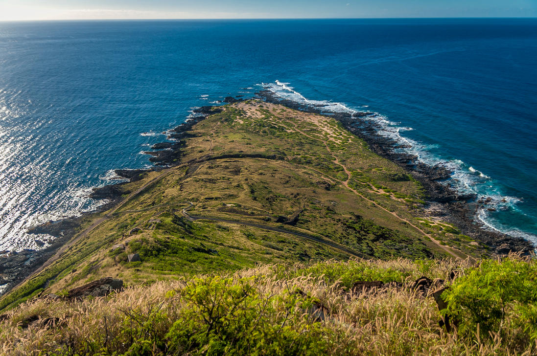 Kaena Point Top by Jonathan-Flash