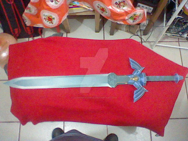 Master Sword life size Papercraft by DarkRockerRUS on DeviantArt