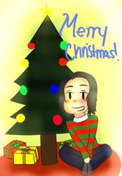 Merry Christmas 2018: Christmas Tree by DRAWINGGIRL10