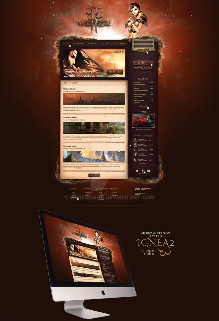 ignea2___new_webdesign_template__by_were