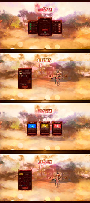 Elysia2 - User Interface Started