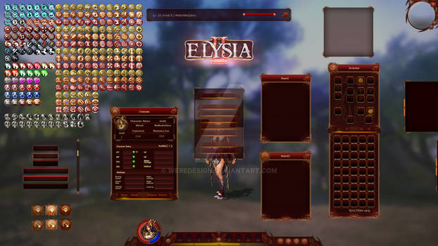 Elysia2 - Game User Interface Design