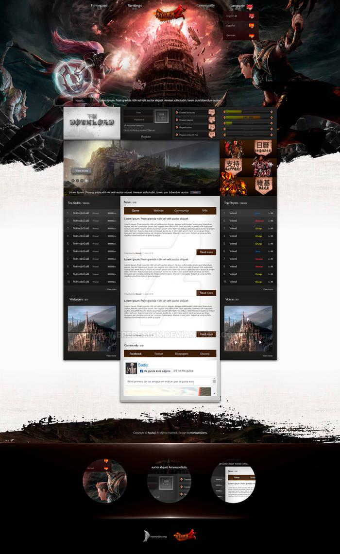 Ayura2 - Webdesign