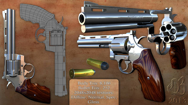 Revolver - Colt Python