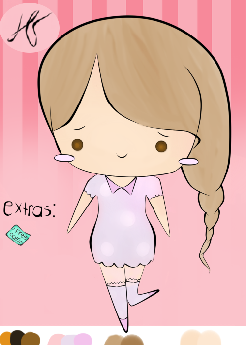 [CLOSED AUCTION] Sweet n' Simple Lolita Girl by HayleeHugs