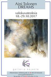 DREAMS exhibition 18.-29.10.2017