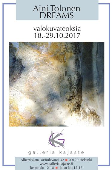 DREAMS exhibition 18.-29.10.2017 by AiniTolonen