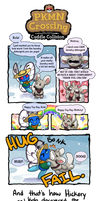 PKMN Crossing: Yay Day - Cuddle Collision by Lhumina