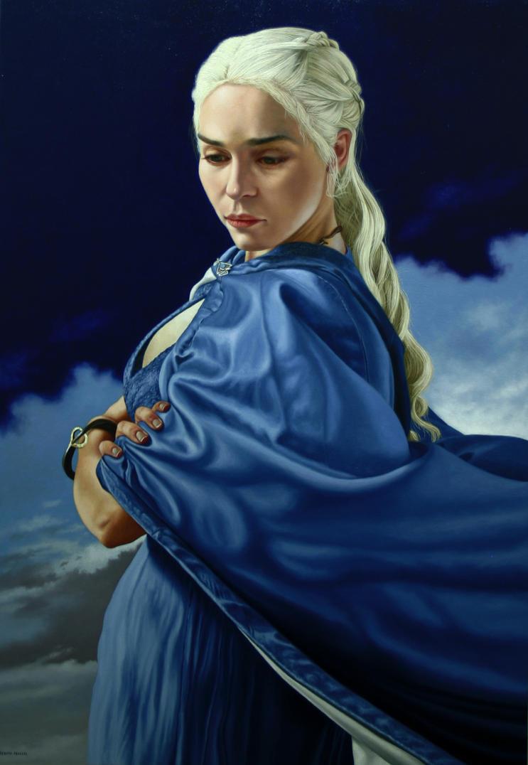 Daenerys Targaryen by renato54