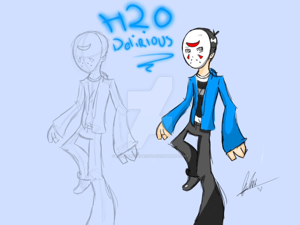 H2O Delirious (Panty and Stocking ver ) by ZoruaLuvsTacos on DeviantArt