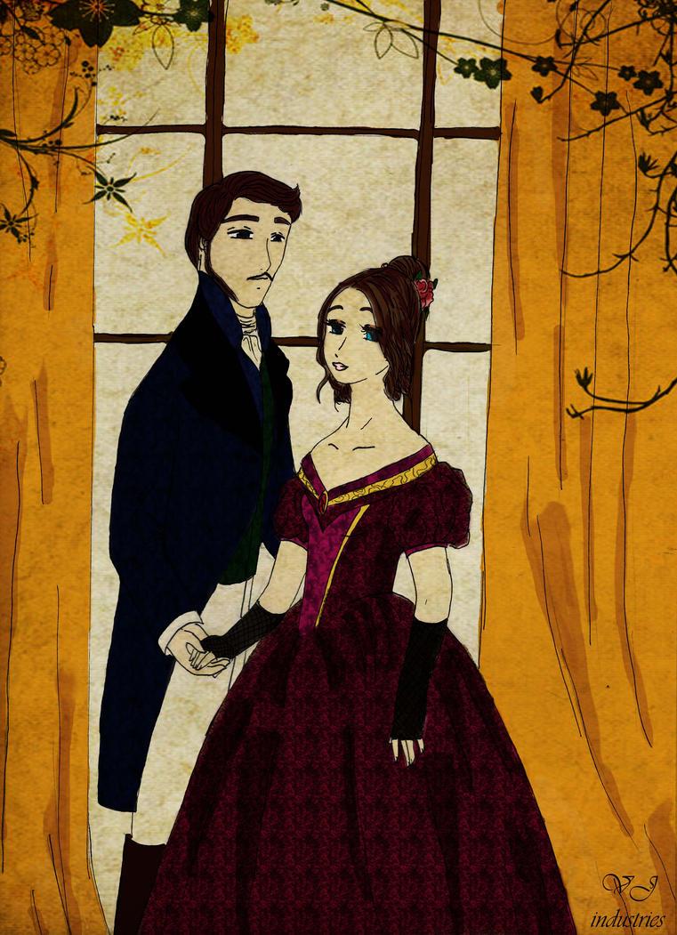 Victoria and Albert by EmpressofHeaven