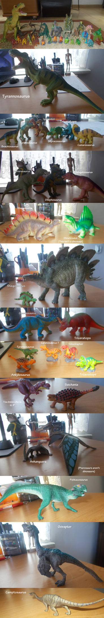 My prehistoric collection by Eveeka