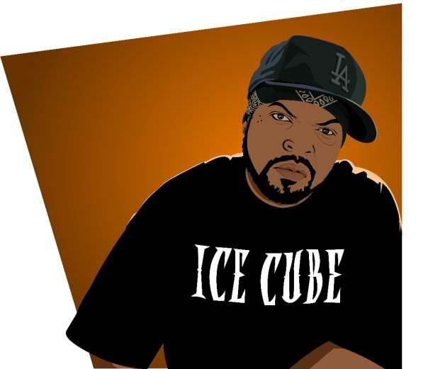 ICE cube Vector (sample t-shirt design) by Alboom on DeviantArt