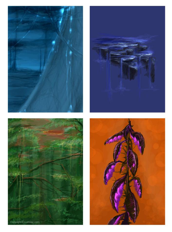 Concept Art Portfolio - Critiques are Most welcome.