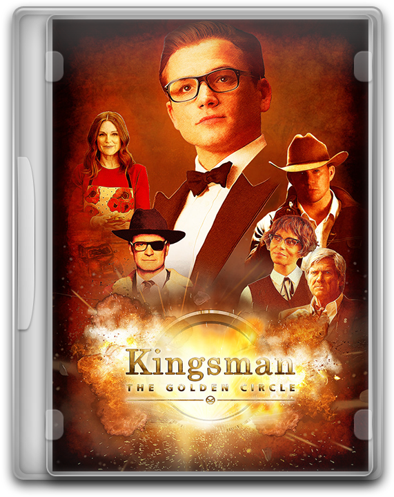 Kingsman The Golden Circle 2017 Dvd Icon By Moeinmoradi On Deviantart