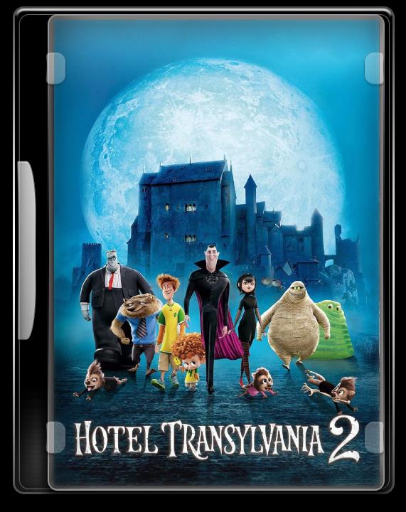 Hotel Transylvania 2 2015 Dvd Icon By Moeinmoradi On Deviantart