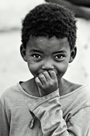Poor African Children poverty by pocobw