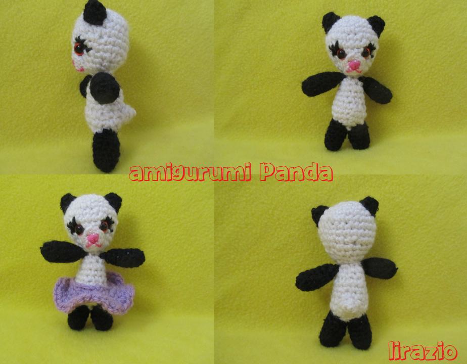 Amigurumi De Panda : Amigurumi panda by lirazio on deviantART
