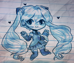 Blue Ink Aesthetic by isa-is-i