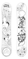 Snowboard design 1 by Pie-with-mushrooms