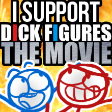 DICK FIGURES MOVIE by AlilliceMFC
