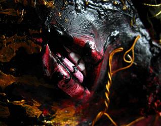 Maske [mouth] by MARRASKUUveri