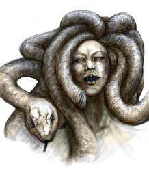 Medusa aspect by MARRASKUUveri