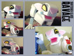 Shattered Glass Ravage Puppet