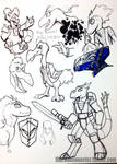 DinoKnights Sketches 08 -