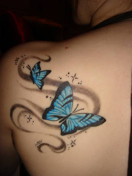 Butterfly Back Tattoo