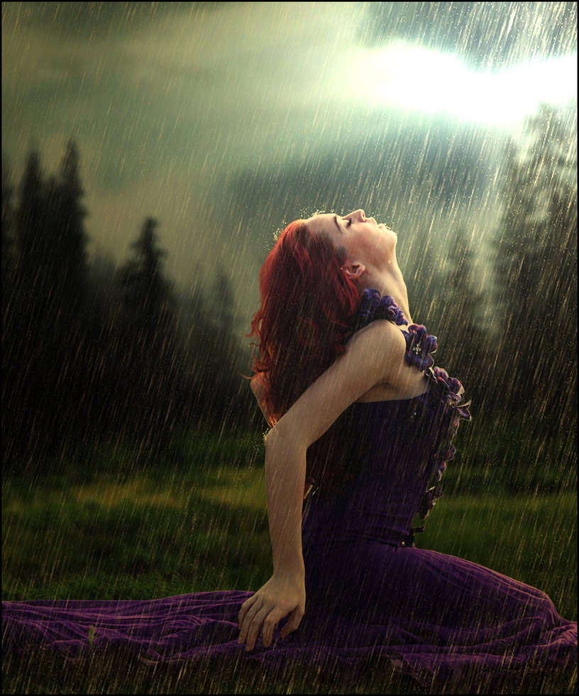 Kiss the Rain by Doucesse