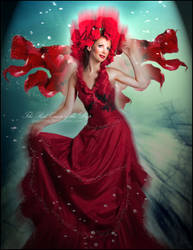 The Red Queen of the Deep by Doucesse