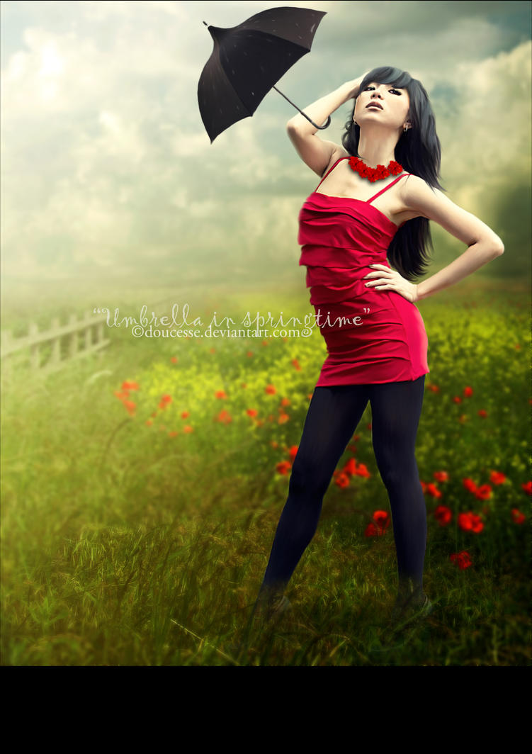 UmbreLLa in Springtime by Doucesse
