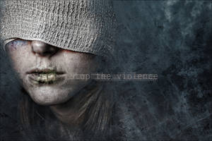 Stop the violence by Doucesse