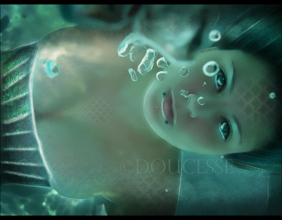 WaterGirl by Doucesse